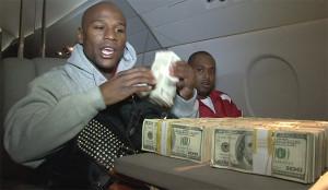 Floyd-Mayweather-1-million-dollars-on-jet